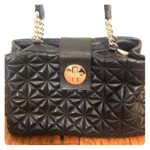 Kate Spade Quilted Black Leather Bag